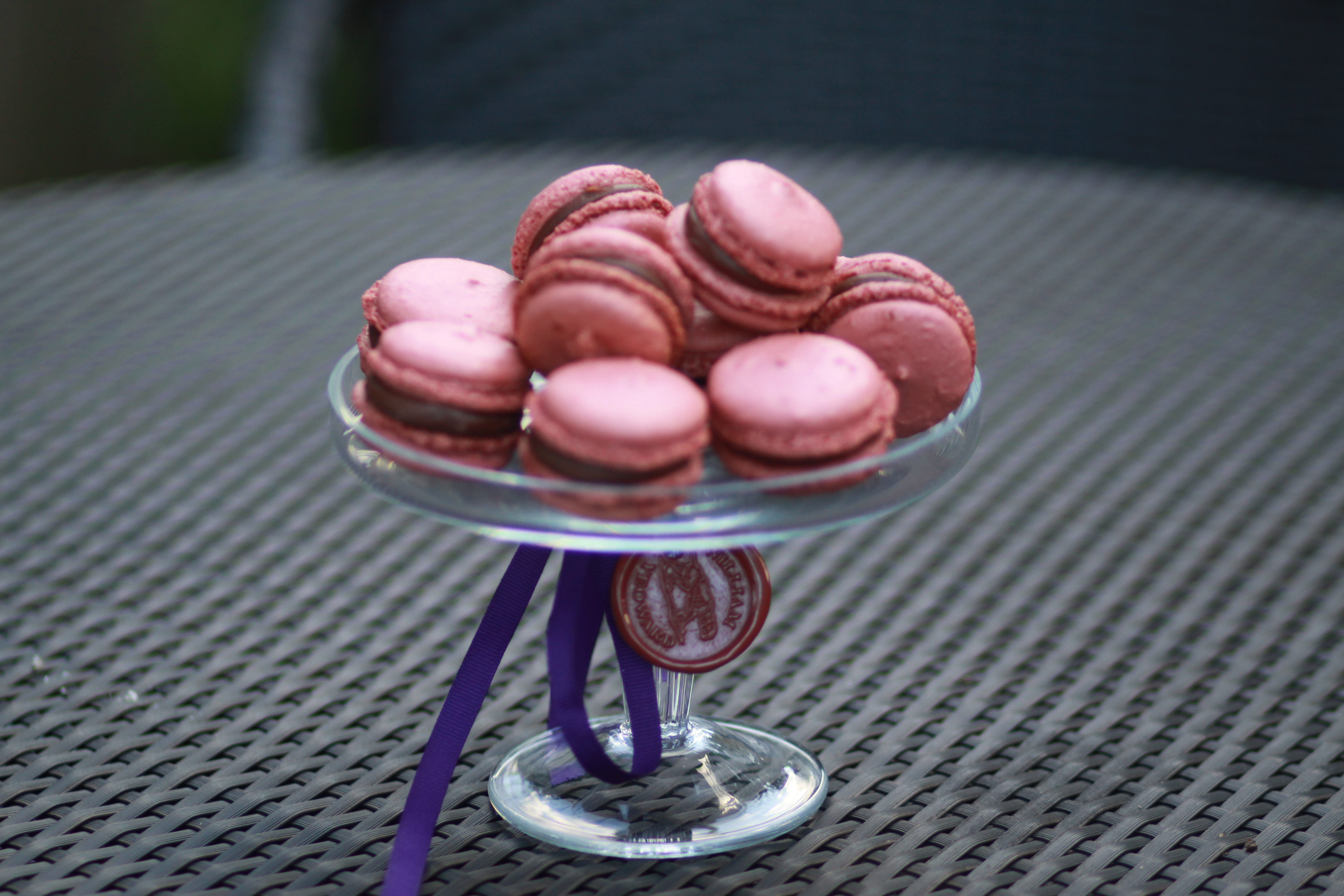 Pierre Herme Chocolate French Macarons recipe - baked by Victoria