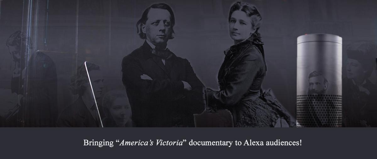 Studio Carlton brings the Victoria Woodhull Documentary to Alexa Audiences